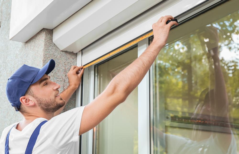 Professional Installation Measuring Window - Roller Shutter People
