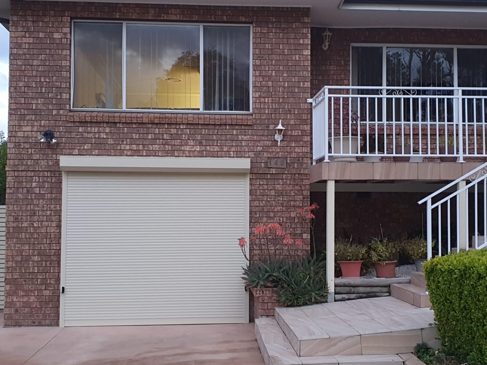 Modern White Roller Shutters Residential - Roller Shutter People