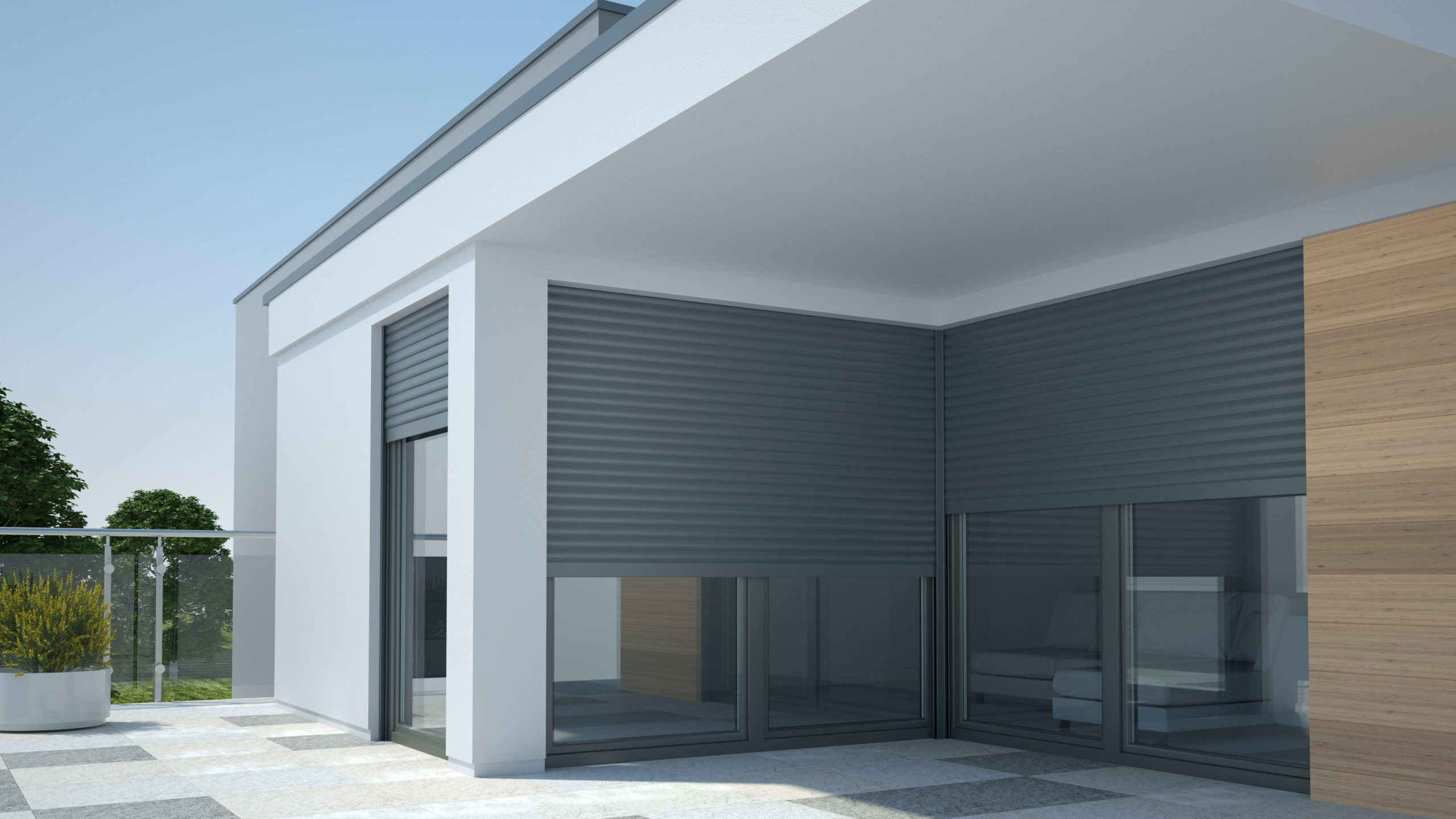 Curb Appeal and Roller Shutters Go Hand in Hand!