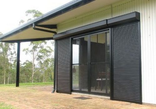 Black Roller Shutters - Roller Shutter People