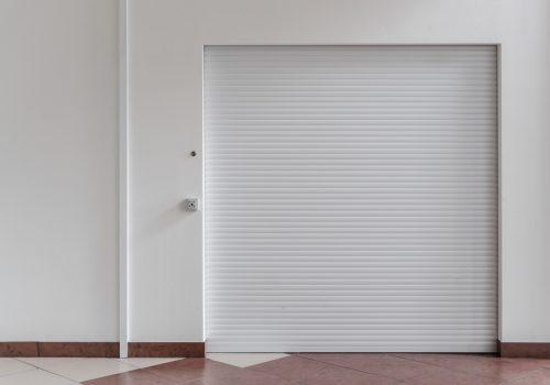 White Roller Shutter Indoors - Roller Shutter People